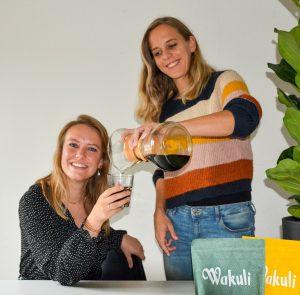 Lieke Hallegraeff en Joli Seelen Wakuli