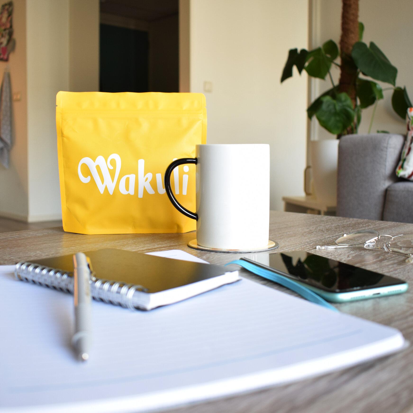Thuiswerken met wakuli